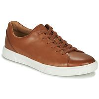 Zapatos Hombre Zapatillas bajas Clarks UN COSTA LACE Tan