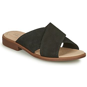 Zapatos Mujer Zuecos (Mules) Clarks DECLAN IVY Negro