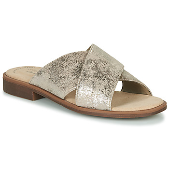 Zapatos Mujer Zuecos (Mules) Clarks DECLAN IVY Plata
