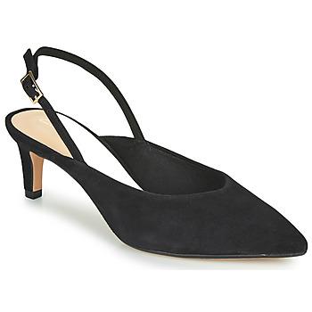 Zapatos Mujer Zapatos de tacón Clarks LAINA55 SLING Negro
