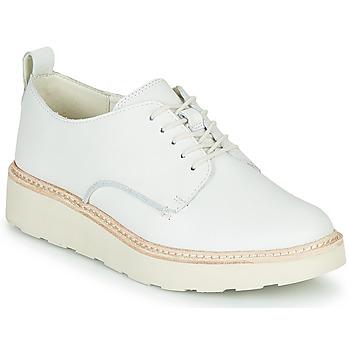 Zapatos Mujer Derbie Clarks TRACE WALK Blanco