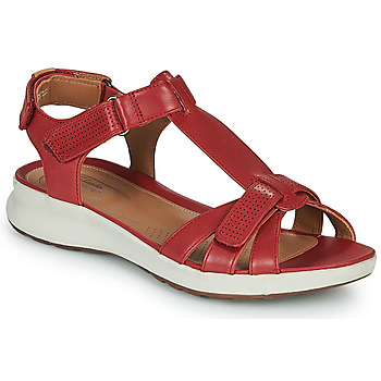 Zapatos Mujer Sandalias Clarks UN ADORN VIBE Rojo
