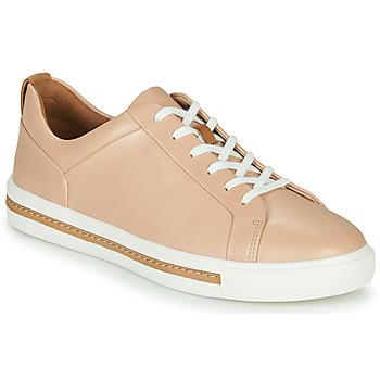 Zapatos Mujer Zapatillas bajas Clarks UN MAUI LACE Rosa