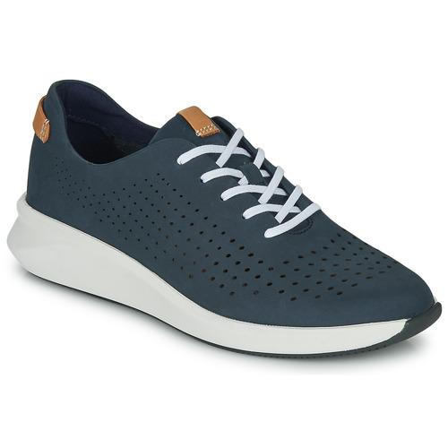 Zapatos Mujer Zapatillas bajas Clarks UN RIO TIE Azul