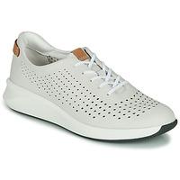 Zapatos Mujer Zapatillas bajas Clarks UN RIO TIE Blanco