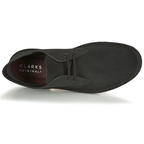 Clarks Desert Boot Negro - Envío Gratis Zapatos Botas De Caña Baja Hombre 112