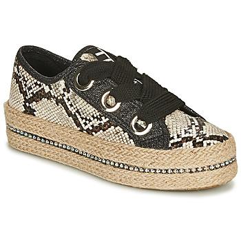 Zapatos Mujer Alpargatas Tosca Blu TAHITI Negro / Serpiente