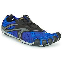 Zapatos Hombre Running / trail Vibram Fivefingers V-RUN Negro / Azul