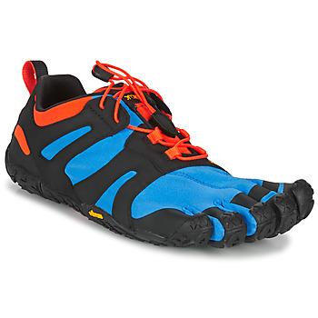 Zapatos Hombre Running / trail Vibram Fivefingers V-TRAIL 2.0 Azul / Naranja