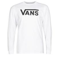 textil Hombre Camisetas manga larga Vans VANS CLASSIC Blanco