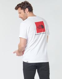 textil Hombre Camisetas manga corta The North Face S/S REDBOX Blanco