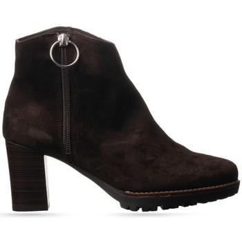 Zapatos Mujer Botines Nature 4166 Botines Mujer Marrón Marrón