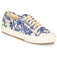 Zapatos Mujer Zapatillas bajas Superga 2294-COTFANW Beige / Azul