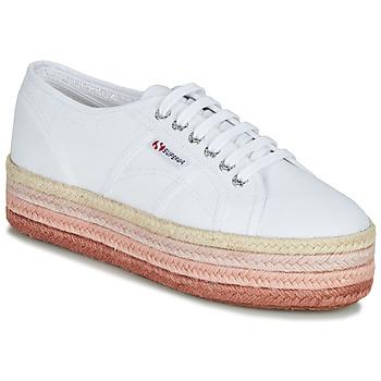 Zapatos Mujer Zapatillas bajas Superga 2790-COTCOLOROPEW Blanco / Rosa