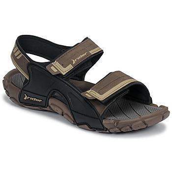 Zapatos Hombre Chanclas Rider TENDER SANDAL XI AD Marrón