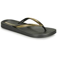 Zapatos Mujer Chanclas Ipanema MESH IV Negro / Oro