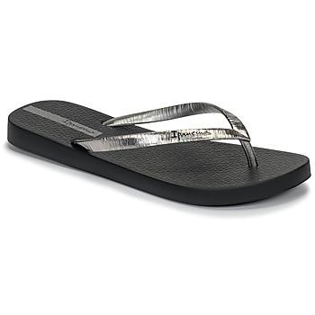 Zapatos Mujer Chanclas Ipanema GLAM II Negro / Plateado