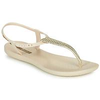 Zapatos Mujer Sandalias Ipanema CLASS GLAM III Beige / Oro