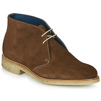 Zapatos Hombre Botas de caña baja Barker Conner Marrón
