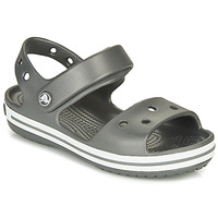 Zapatos Niños Sandalias de deporte Crocs CROCBAND SANDAL KIDS Negro / Blanco