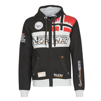 textil Hombre sudaderas Geographical Norway FLYER Negro