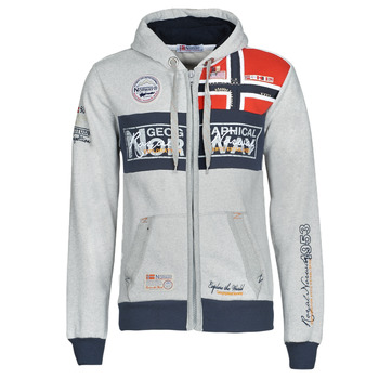 textil Hombre sudaderas Geographical Norway FLYER Gris / China