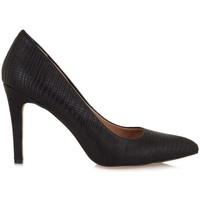 Zapatos Mujer Zapatos de tacón Exé Shoes SALÓN TACÓN LIZARD GARDA-211 Color Negro