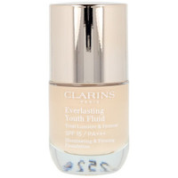 Belleza Mujer Base de maquillaje Clarins Everlasting Youth Fluid 105-nude  30 ml