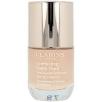Belleza Mujer Base de maquillaje Clarins Everlasting Youth Fluid 108.5 -cashew  30 ml