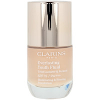 Belleza Mujer Base de maquillaje Clarins Everlasting Youth Fluid 112 -amber  30 ml