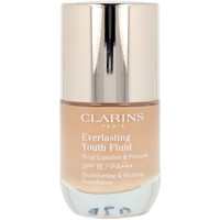 Belleza Mujer Base de maquillaje Clarins Everlasting Youth Fluid 113 -chestnut  30 ml
