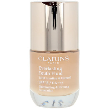 Belleza Mujer Base de maquillaje Clarins Everlasting Youth Fluid 114 -capuccino  30 ml