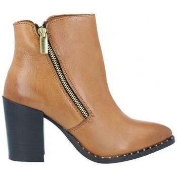 Zapatos Mujer Botines Azarey Azarey 465C920 Botines Casual con Tacón de Mujer Marrón
