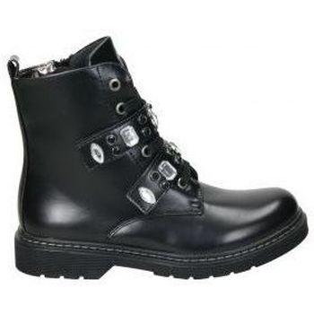 Zapatos Niña Botas de caña baja Asso Botines  ag3702 niña negro Noir