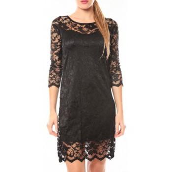 textil Mujer Vestidos cortos Dress Code Robe In Vogue Noir Negro