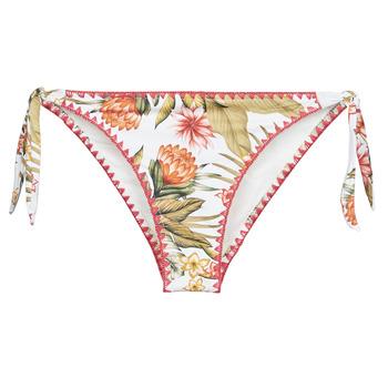 textil Mujer Bañador por piezas Banana Moon DIMKA LAHAINA Blanco / Naranja