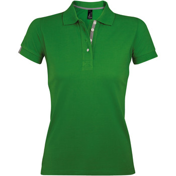 textil Mujer Polos manga corta Sols PORTLAND MODERN SPORT Verde