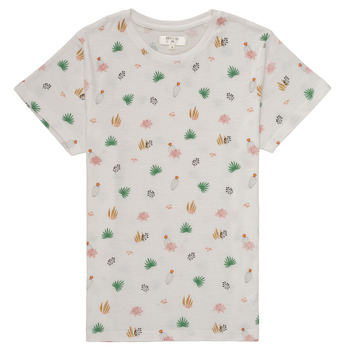 textil Niña Camisetas manga corta Deeluxe ELINA Blanco