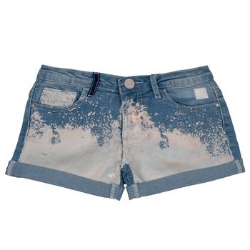 textil Niña Shorts / Bermudas Desigual JORBA Azul