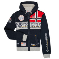 textil Niño sudaderas Geographical Norway FLYER Marino