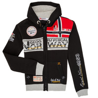 textil Niño Sudaderas Geographical Norway FLYER Negro