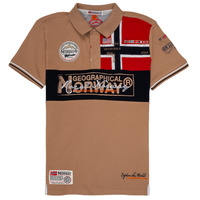 textil Niño Polos manga corta Geographical Norway KIDNEY Beige