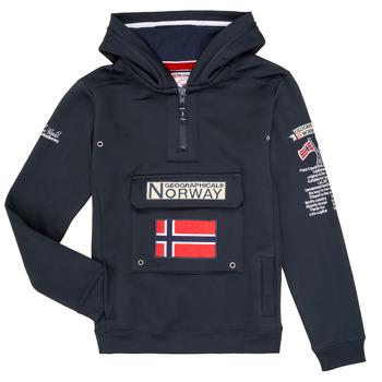 textil Niño sudaderas Geographical Norway GYMCLASS Marino