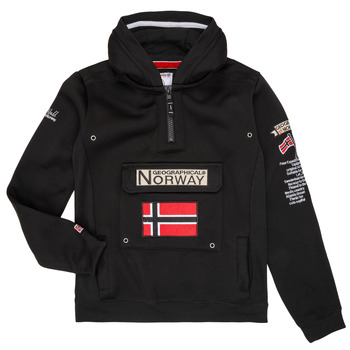 textil Niño sudaderas Geographical Norway GYMCLASS Negro