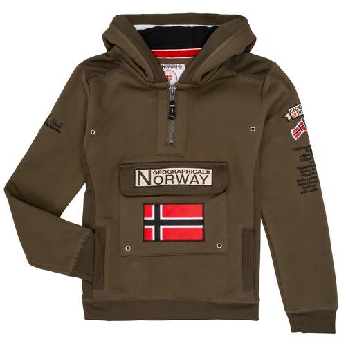 textil Niño Sudaderas Geographical Norway GYMCLASS Kaki