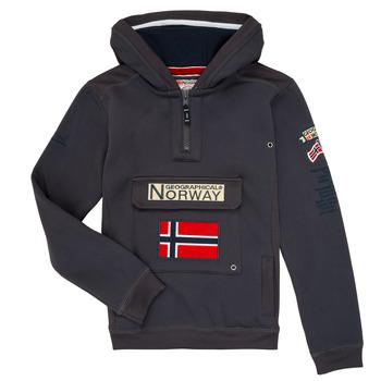 textil Niño sudaderas Geographical Norway GYMCLASS Gris