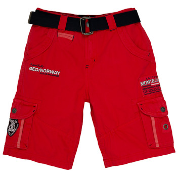textil Niño Shorts / Bermudas Geographical Norway POUDRE Rojo