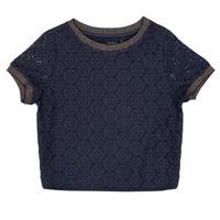 textil Niña Tops / Blusas Ikks CLOTHILDE Marino