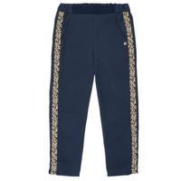 textil Niña Pantalones fluidos Ikks NATHAN Marino