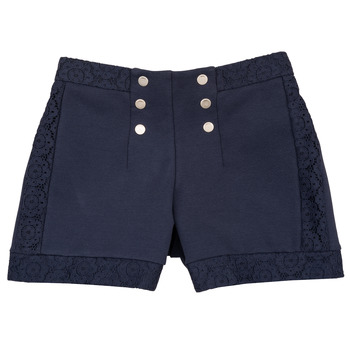 textil Niña Shorts / Bermudas Ikks SOLISSO Marino